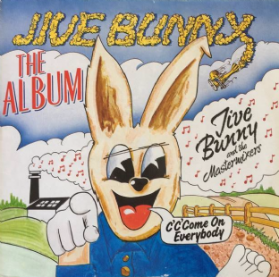 Jive Bunny And The Mastermixers ‎- Jive Bunny: The Album (LP) (VG+/G++)